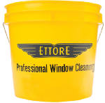 Ettore Products 82222 Professional Window Cleaning Bucket, Yellow, 3.5-Gal.