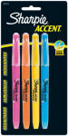 Sanford 27174PP 4-Pack Pocket Accent Highlighters