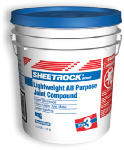 U S Gypsum 381466 Wallboard Joint Compound Plus 3, Ready Mix, 4.5-Gal. Pail