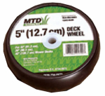 Arnold OEM-734-0973 5-Inch Deck Lawn Mower Wheel