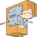 Simpson Strong Tie ACE4Z-WEST 4x Adjustable End Post Cap