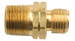 Mr Heater F276153 3/8-Inch Male x 9/16-Inch Left-Hand Male Propane Fitting