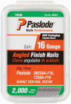 Paslode 650232 2,000-Count 2-1/2 Inch 16-Gauge Angled Galvanized Finish Nails