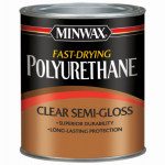 Minwax The 230054444 1/2-Pint Semi-Gloss Polyurethane Finish