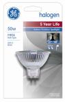 G E Lighting 21458 50-Watt Halogen Quartz Narrow Spotlight Bulb