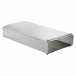 Lambro Industries 101L 3-1/4 x 10 x 24-Inch Aluminum Duct