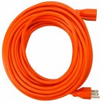 Ho Wah Gentin Kintron Sdnbhd 02307ME 16/3 SJTW Orange Round  Extension Cord, 25-Ft.