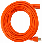 Ho Wah Gentin Kintron Sdnbhd 02308ME 50-Ft. 16/3 SJTW Orange Round Vinyl Extension Cord