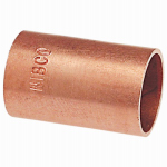 B&K W 61906 Wrot Copper Coupling Without Stop, 1-In.