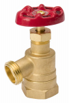 "Homewerks Worldwide VGRBNOB5B 1"" Brass Bent GDN Valve"