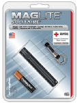 Mag Instrument K3A016 Solitaire Incandescent Flashlight, 2-Lumens, Black Aluminum
