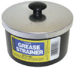 Stanco Metal Prod GS-1200 Grease Strainer Cup & Lid, Aluminum, 40-oz.
