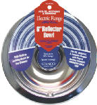 Stanco Metal Prod 5075-6 Electric Range Reflector Bowl, Lock Notch, Chrome, 6-In.