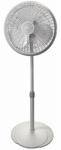 Lasko Products 2526 16-Inch Adjustable Oscillating Pedestal Fan