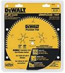 Dewalt Accessories DW3218PT 10-Inch 80-TPI Fine Crosscut Saw Blade