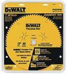 Dewalt Accessories DW3232PT 12-Inch 80-TPI Woodworking Saw Blade