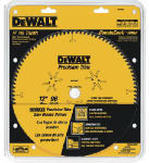 Dewalt Accessories DW7296PT Fine Crosscut Blade, 12-In., 96-Teeth