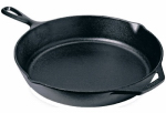 Lodge Mfg L8SK3 Logic Skillet, Seasoned Cast Iron, 2 x 10-1/4-In.
