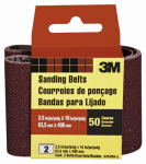 3M 9252-2 2-Pk., 2.5 x 16-In. 50-Grit Heavy-Duty Sanding Belt