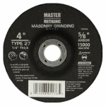 Ali Industries 760394 MM 4x1/4x5/8 Masonry Wheel - 10 Pack