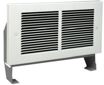 63314 register plus fan forced heater white