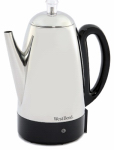 Greenfield World Trade 54159 12-Cup Stainless Steel Percolator