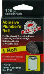 Ali Industries 4733 1-Inch x 10-Ft.180-Grit Plumber's Sanding Roll