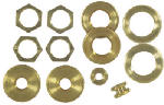 Westinghouse Lighting 70153 Solid Brass Locknut