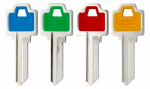 Kaba Ilco WR5-PC Ilco Weiser Colored Plastic Head Key Blank
