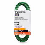 Ho Wah Gentin Kintron Sdnbhd 02352-05ME Outdoor Extension Cord, 16/3 SJTW, Green, 20-Ft.