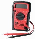 Gardner Bender GDT-3190 Digital Multimeter, Manual Ranging, 4 Functions