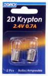 Dorcy International 41-1660 2-Pack 2D Kpr102 Krypton Bulb
