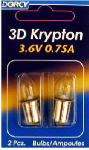 Dorcy International 41-1661 2-Pack 3D Kpr103 Krypton Bulb
