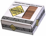 Nelson Wood Shims CSH8/84/320B Contractor Wood Shims, 8-In., 84-Ct.