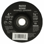 Ali Industries 768096 MM 4x1/8x5/8 Masonry Wheel - 10 Pack