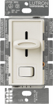 Lutron Electronics S-600PH-LA Skylark 600-Watt Single-Pole Preset Dimmer, Light Almond