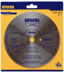 Irwin Industrial Tool 11840 Steel Plywood Blade, 7.25-In.