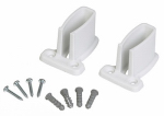 Closetmaid 2662000 2-Pack White Wall Shelf Bracket