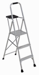 Louisville Ladder AP8005 5-Ft. Platform Ladder, Aluminum, Type III, 200-Lb. Duty Rating