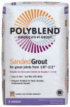 Custom Bldg Products PBG14525 25-Lb. Light Smoke Polyblend Sanded Grout