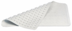 Rubbermaid Comm Prod 1982724 White Small Antibacterial Bath Mat