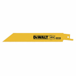 Dewalt Accessories DW4809B25 8-In. 14-TPI Bi-Metal Reciprocating Saw Blade