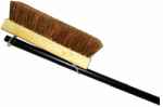 Abco Products 00070-12 Deck Brush, Palmyra & Wood, 10-In. With 48-In. Handle