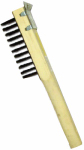 Abco Products 01713 Wire Scratch Brush With Scraper, Steel & Wood