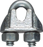 National Mfg/Spectrum Brands Hhi N248-278 Wire Cable Clamp, Zinc, 0.125-In.