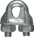 National Mfg/Spectrum Brands Hhi N248-286 Wire Cable Clamp, Zinc, 3/16-In.