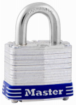 Master Lock 3 1-1/2 Inch Laminated Maximum-Security 4-Pin Padlock