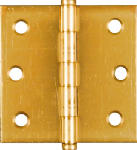 National Mfg/Spectrum Brands Hhi N149-104 2-1/2-Inch Brass Cabinet Hinge