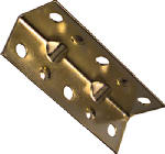National Mfg/Spectrum Brands Hhi N226-266 2-1/2 x 3/4-Inch Brass Corner Brace
