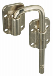 National Mfg/Spectrum Brands Hhi N238-972 Nickel Sliding Door Latch, 1.5-In.